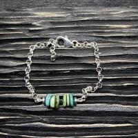 Bracelet Turquoises rondelles Argent 925
