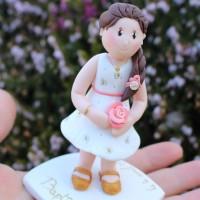 Figurine de baptême petite fille Eloïse