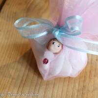 Grigris de dragées ou de verre thème Petite fille
