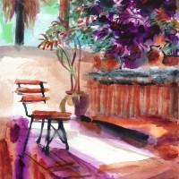 Intérieur violet - Purple home