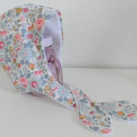 Bonnet retro liberty Betsy 6/12 mois