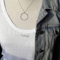 Collier argent 925 et anneau