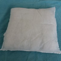 Coussin simple pour taie d'oreiller ou housse de coussin 40 x 40 cm