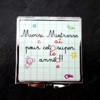 Miroir - Idée cadeau maîtresse - cadeau fin d'année scolaire