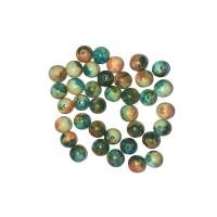 Lots de perles en jaspe océan 7 mm