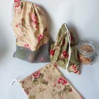 lot de sacs a vrac / sacs à fruits et à légumes par 3 - camaieux