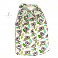 Serviette de cantine, serviette de table, encolure élastiquée - Koala